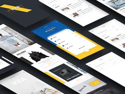IKEA Redesign Concept ux ui mobile ecommerce retail ikea
