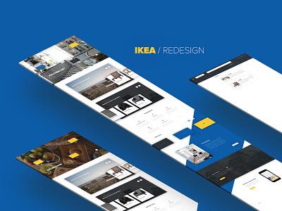 IKEA Homepage Redesign redesign ux ui ikea redesign ikea