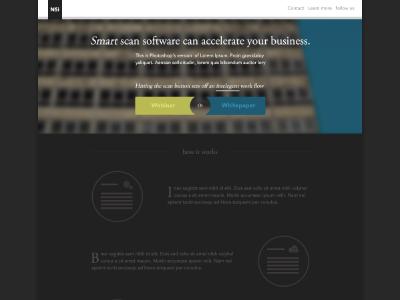 Landing page landing page flat design home page ui design ux design