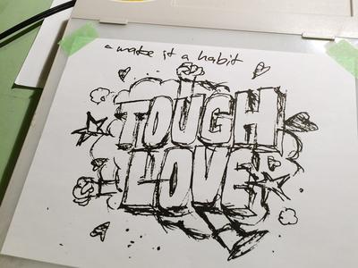Tough Love: Light Tracer light tracer adventures in design tough love sketch