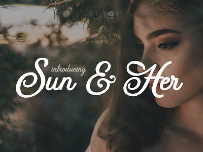 FREE Sun & Her Font typography freebee fonts pattern font family fonts collection font awesome fonts.com fontself free fonts free font freebies freebie free font design fonts font