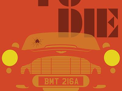 DB5 adobe illustrator illustration vector illustrator spy movies aston martin bond 007