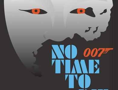 NOH MASK-No Time to Die james bond no time to die 007 vector adobe illustrator illustration ui