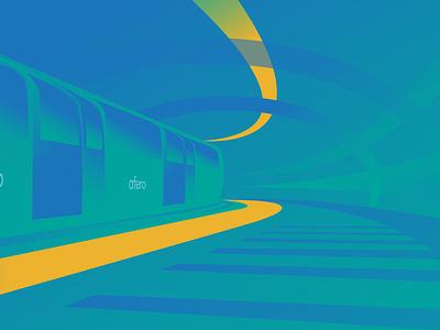 Platform iot vector infographic web illustration