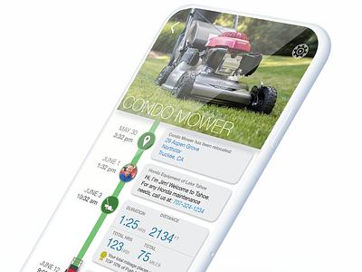 Connected/IoT Power Equipment Idea smart iot visual design uiux design