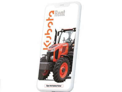 Heavy Equipment Rental App Splashscreen design typography branding logo iot adobe illustrator