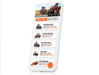 Heavy Construction Rental App