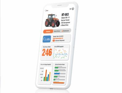 Heavy Construction Rental App Details Screen