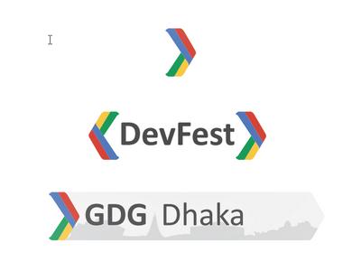 GDG Dhaka & DevFest Logo Concept Design identity logo