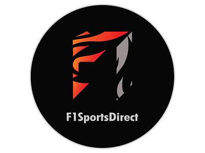 F1SportsDirect logo Redesign V2 illustration redesign identity logo