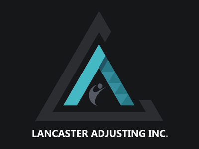 Logo Concept Design V1 in Dark Background for LAI design branding brand design brand identity design identity logo