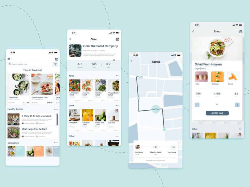 App Healthy Food Delivery