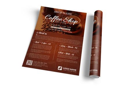 Coffee Shop Flyer Templates