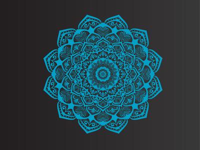 Vector Illustration of Luxury Mandala Design