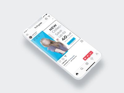 Shopping social media post templates free