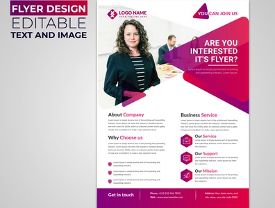 Professional Corporate Flyer Design Templates