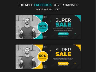 Special sale facebook social media banner template Premium Psd