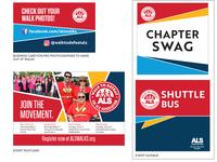 Walk to Defeat ALS - 2019 Branding Print Pieces