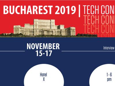 Design Challenge - Bucharest Tech Connect Banner