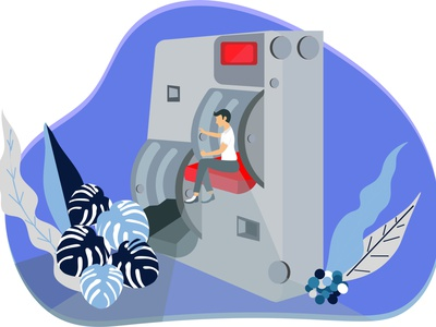 Electric moderation switch controller regulator electric design ui flat vector illustrator illustration