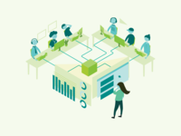 analytics tool illustration