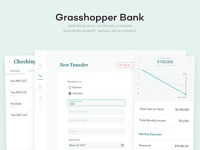 Grasshopper Bank ux ui