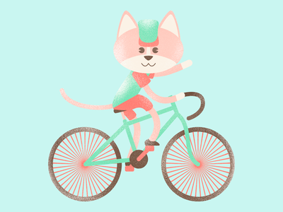 Le Tour cat cycling cats affinityphoto digital illustration character pencildog illustration affinitydesigner affinity character design