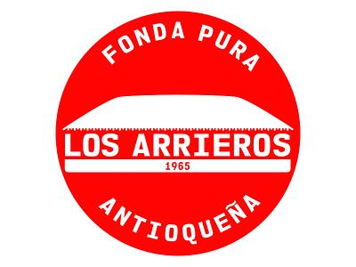 Typical Colombian food restaurant logo identity branding identity design colombian logotype logotype design restaurant branding restaurant logo logos logodesign branding vector affinitydesigner design logo