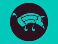 Logo Pencildog Dribbble