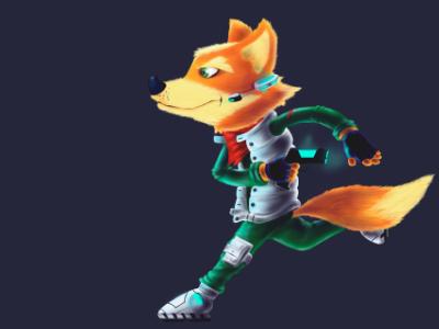 Fox McCloud Dribble