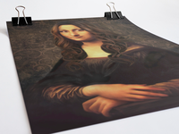 #modern Mona Lisa