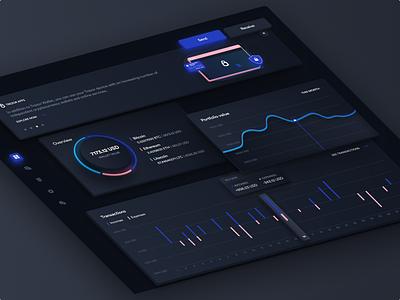 Trezor Dashboard Dark Mode 🌚 wallet dashboad finance exchange ethworks trezor ethereum crypto cryptocurrency blockchain cryptocurrency bitcoins blockchain bitcoin portfolio data token