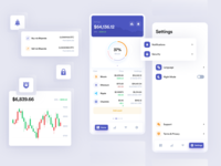 Blockfolio Mobile App blockfolio ethworks chart dashboard exchange wallet crypto cryptocurrency finance blockchain ethereum bitcoin