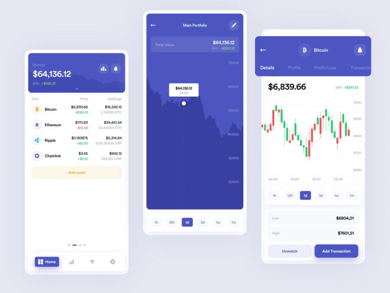 Blockfolio Mobile App ethworks dashboard exchange wallet crypto cryptocurrency finance blockchain ethereum bitcoin