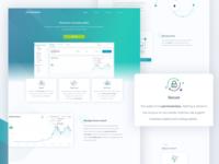 Ethereum Token Wallet Landing Page 🚀