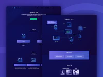 💥 Universal Login SDK Site 💥 exchange open source sdk ether wallet illustration clean cryptocurrency crypto blockchain ethereum bitcoin