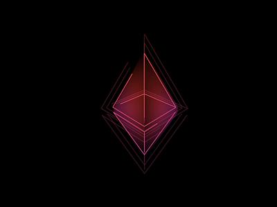 Ethereum logo animation eth animation blockchain cryptocurrency currency crypto bitcoin ethereum