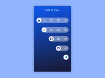 Share UI Concept