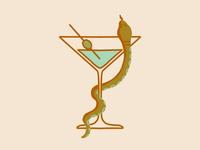 Martini & Snake