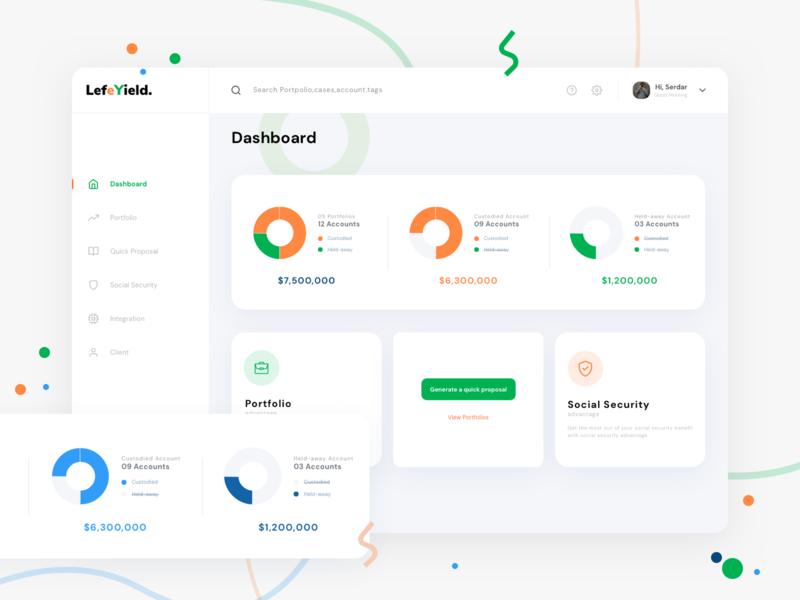 finance web app - Dashboard Redesign web app design website uidesign design ux themes green finance app finance business redeem dashboard finance