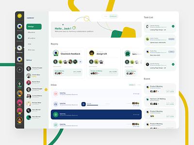 Chat Room Dashboard story storyboard inbox event dashboard task list chat dashboard chat platform dashboard ui dashboard