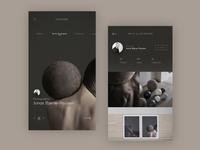 Photograph Mobile App Concept