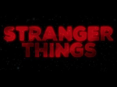 Film Opening Credits: Stranger Things
