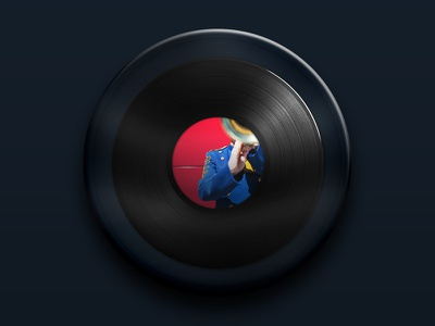 Zoom Vynil vynil vinyl music turntable sound glass disc rotate chante