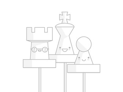 Illustration Chess Strategy