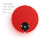 Terraillon Mini Timer By Richard Sapper Terraillon Mini Timer