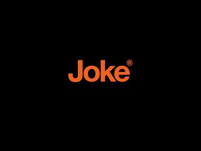 joker logo registered minimalism joke helvetica joker