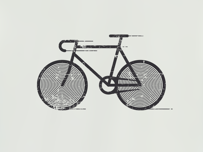 hypnobike chain frame wheels wind speed hypnotic hypnosis spiral fixed bike bicycle