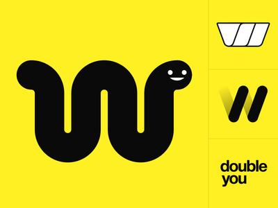 W - 36 Days of Type helvetica text minimal typography letter worm 36days-w 36daysoftype