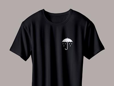 sad umbrella t-shirt weather drops rain umbrella